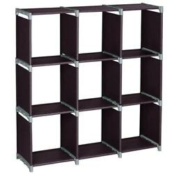 Storage Cubes Modular Shelf Girds Closet Organizer Cabinet Bookcase