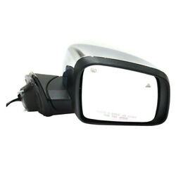 11-18 Grand Cherokee Mirror Power Folding W/memory Signal Chrome Cap Right Side