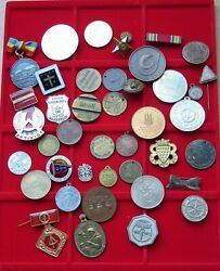 Small Group / Collection / Lot Jetons Medals World 40 Pc 390 G Xx32 007