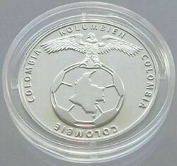 Brazil Football Championship 2014 Medal Proof Team Colombia Silver W10 003