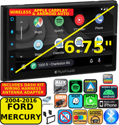 04-16 Ford F And E Series Wireless Apple Carplay Android Auto Car Navigation Radio
