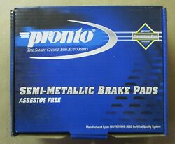 Brand New Pronto Rear Brake Pads Pmd770 / D770 Fits See Fitment Chart