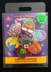 Hkdl Inside Out Joy Sadness Disgust Anger Fear Bing Bong Spinner Le 500 Pin