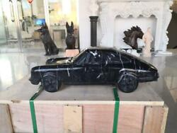 Cool Hand Carved Marble 24 Long Porsche 911 Reproduction Car - Pc911