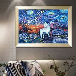 Famous Painting Thick Oil Knife Painting Hand Painted Decorative Painting