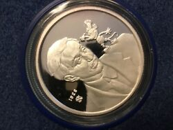 1988 Disney-60 Years With You-mickey And Walt-1 Troy Ounce