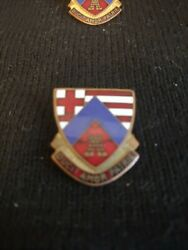 Mass State Guard Ducit Amor Patrie Military Robbins Co Pin