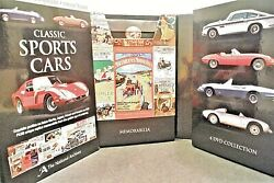 National Archives Classic Sports Cars 4 Dvd Box Set Memorabilia Collection Nice