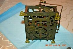 Antique Cuckoo Clock Movement Mainspring Only For Parts Or Project