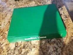 Great Book Of Baseball Cards,1989 Publication 452 Pages Hardbound Book