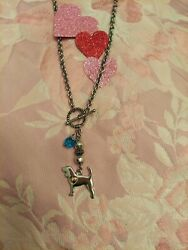 Beagle Hound Dog Ladies Handmade Necklace jewelry only 1 Free shipping
