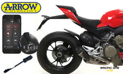 Exhausts Silencers Arrow Titanium + Mapping Up Map Ducati Streetfighter V4 2020