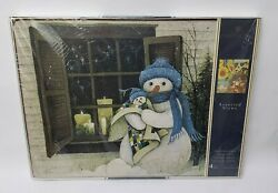 Pimpernel Snowmen Placemats 4 Holiday Snow Christmas England