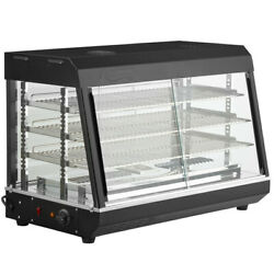 New Warmer Display Case Heated Counter Top Hot Food Snack 36 X 19 X 24 Ce Etl