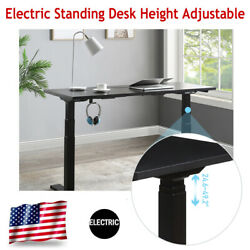 Electric Standing Desk Height Adjustable Modern Computer Study Table Home Office