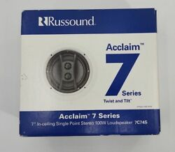 New Russound 7c74s Acclaim Series - 7 100w Single Point Stereo Speaker