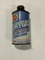 Vintage Cristy Dry Gas Cone Top Cans Empty