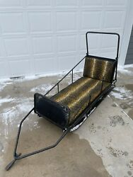 Vintage Arctic Cat Kat Freighter Pull Behind Cutter Sleigh Rare Snowmobile 1969
