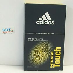 Intense Touch by Adidas for Men EDT Cologne Spray 3.3 oz Brand New $21.85