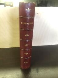 Illustrations 181 Charles Dickens Etc Publisher Sample Book Gold Gilding Rare