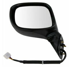 For 12-13 Civic Hybrid Rear View Mirror Power Heated W/signal Light Driver Side