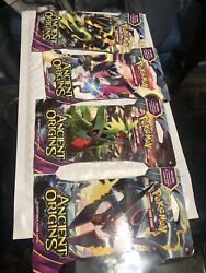 1x Pokemon Trading Card Game Xy-ancient Origins Sleeved Booster One 1 Total