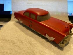 Lionel 0068 Ho Executive Inspection Car Vintage Red 1 Tested And Runs