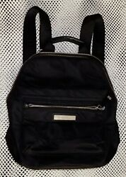 Calvin Klein Belfast Nylon Backpack Handbag Black $37.95