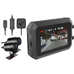 20xwifi Motorcycle Dvr 1080p+1080p Full Front Rear View Waterproof Motorcycle