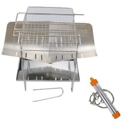 20xoutdoor Foldable Portable Stainless Steel Barbecue Grill Convenient Camping