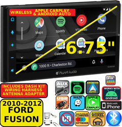 2010-2012 Ford Fusion Wireless Android Auto Apple Carplay Navigation Car Stereo