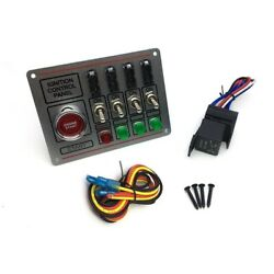10xcar Switch Panel Ignition Switch+toggle Off Switch Engine Start Button
