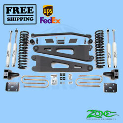 Radius Arm Suspension Lift Kit Zone 4 Front And Rear Fits Ford F350 4wd 2011-16