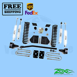 Suspension Lift Kit Zone 4 Front And Rear For Ford F250 4wd Gas/diesel 2008-2010