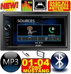01 02 03 04 Ford Mustang Bluetooth Touchscreen Usb Sd Aux Car Radio Stereo Pkg