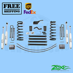 Suspension Lift Kit Zone 5 F And R For Dodge Ram 3500 4wd Gas/diesel 00-02