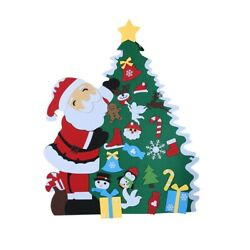 10xdiy Felt Christmas Tree New Year Gifts Kids Toys Artificial