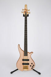 Tune Twb4t-fm Flamed Maple Top Mahogany Oil Finish Gold Brass Nut 4-strings