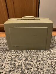Sears Kenmore Portable Sewing Machine Model 158. 16031 W/ Pedal And Case
