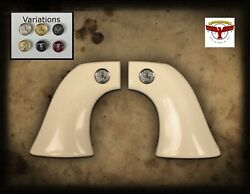 Beretta Stampede 1p Saa Grips Magna-tusk™ Ivory, One-piece