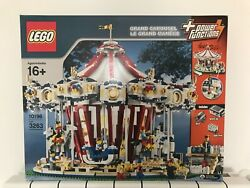Lego Sculpture Grand Carousel 10196 New Sealed Power Functions Rare