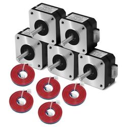 5x5 Pieces Of 17hs4023 Motor With Xh2.54 Wire For Extruder Nema 17 42