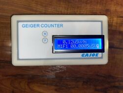 Geiger Muller Counter Nuclear Radiation Detector Portable With Display