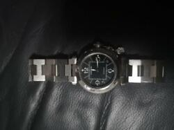 Pasha C Black Limited Ladies' Watch Stainless Steel Silver Automatic