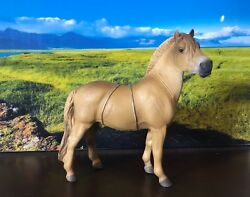 Corral Pals: CollectA by Breyer Fjord Stallion Brown Dun 88591 RETIRED