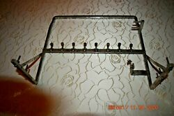 Herschede 9 Tube Grandfather Clock Chime Rack Only For Parts