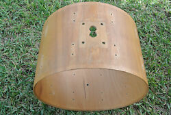 Rare 1979 Sonor-phonic 22 Bass Drum Shell In Oak Veneer For Your Drum Set G889