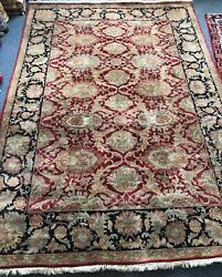 Handmade Indian Chobie Rug 186 X 270 Cm Material 100 Wool Lovely Unique Piece.