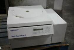 Eppendorf 5804r 14,000 Rpm Benchtop Refrigerated Centrifuge