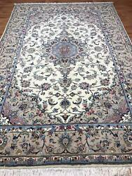 Handmade Rug 300cm X 200cm Material Wool Lovely Peice Traditional.